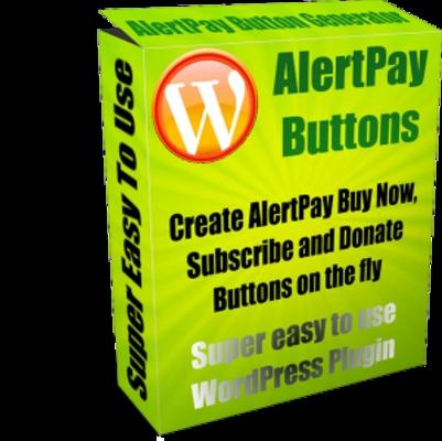 Pay for WordPress AlertPay Button Generator - MRR+Free Bonus