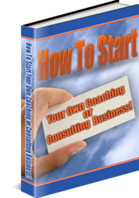 Pay for How To Start - Coaching Or Consulting Business With PLR