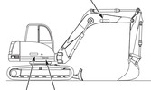 Thumbnail GEHL 303 Compact Excavator Parts Manual