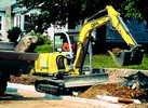 Thumbnail GEHL 602 Compact Excavator Parts Manual