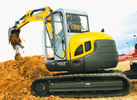 Thumbnail GEHL 753Z Compact Excavator Parts Manual