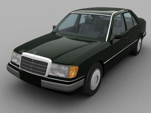 Mercedes benz model 124 car service repair manual 1986 for Mercedes benz 1990 e300