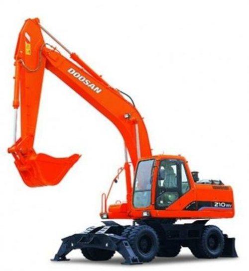 daewoo doosan dx300lc excavator service shop manual