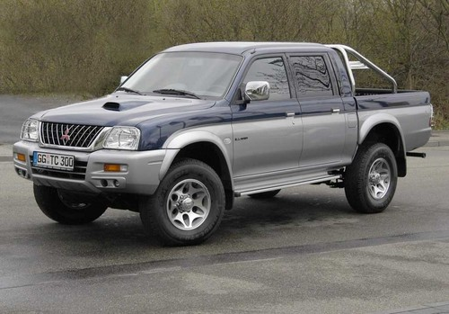 Mitsubishi L200 Service  U0026 Repair Manual  1997 1998 1999