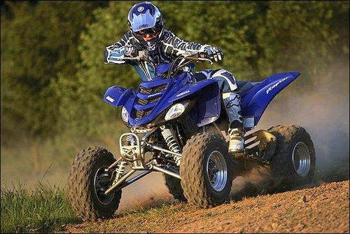 Yamaha Raptor  Years In Production