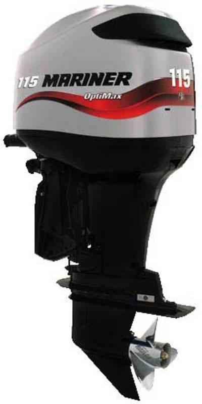 Mercury mariner outboard 2 stroke 70 75 80 90 100 115hp for Mercury boat motor mechanics