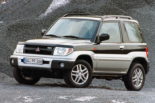Mitsubishi Pajero Pinin Service  U0026 Repair Manual  2000 2001