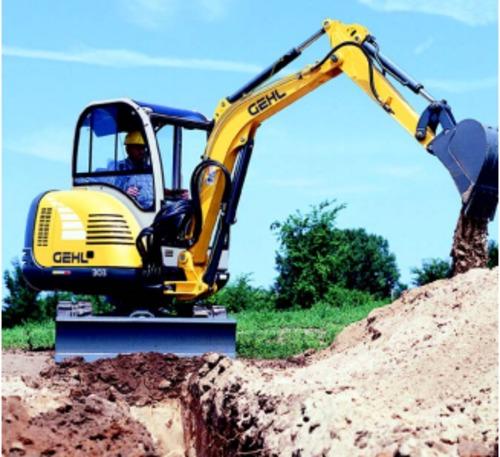 GEHL 303 Compact Excavator Parts Manual