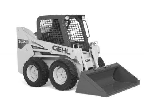 gehl sl3635 sl3935 skid steer loaders parts manual download manu rh tradebit com Gehl Excavators Mercury Bobcat