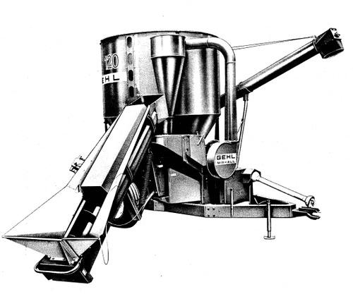 gehl 120mx mix-all mixer parts manual