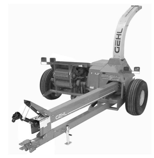 Gehl 1085  1285 Forage Harvester Parts Manual