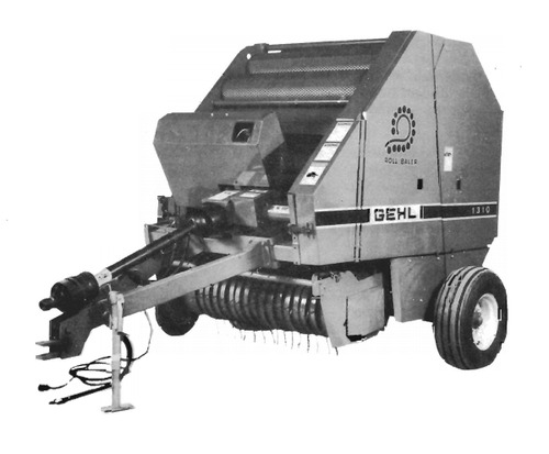 Pay for GEHL 1310 Fixed Chamber Round Baler Parts Manual