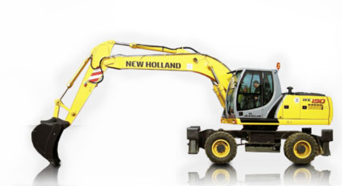 New Holland WE190, WE210 - WE210 Industrial, WE230 - WE230 Industrial on