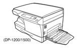 Thumbnail TOSHIBA DP1200, DP1500 DIGITAL PLAIN PAPER COPIER Service Repair Manual