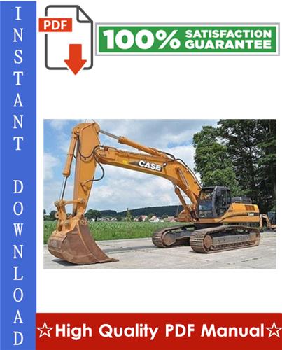Thumbnail CASE CX460 TIER 3 CRAWLER EXCAVATOR Workshop Service Repair Manual