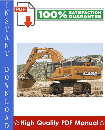 Thumbnail CASE CX700 CRAWLER EXCAVATORS Workshop Service Repair Manual
