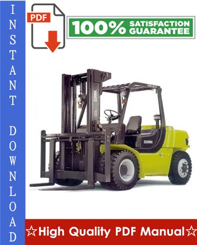 Thumbnail Clark CMP50D, CMP60D, CMP70D, CMP75SD, MP50L, CMP60L, CMP70L, CMP75SL, SF50L, SF60L, SF70L, SF75SL, SF50D, SF60D, SF70D, SF75SD Forklift Trucks Workshop Service Repair Manual