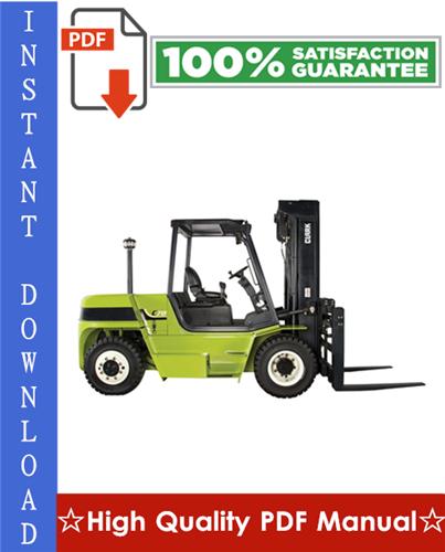 Thumbnail Clark C60, C70, C80 Forklift Trucks Workshop Service Repair Manual