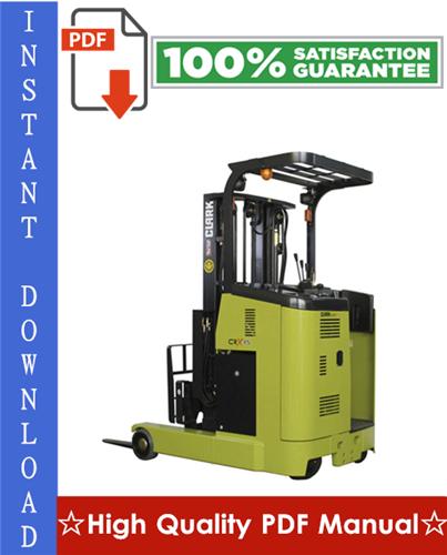 Thumbnail Clark CRX10, CRX13, CRX14, CRX15, CRX18, CRX20, CRX25 Forklift Trucks Workshop Service Repair Manual
