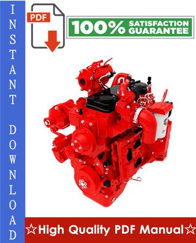 Thumbnail Cummins QSB4.5 Engine Operation and Maintenance Manual