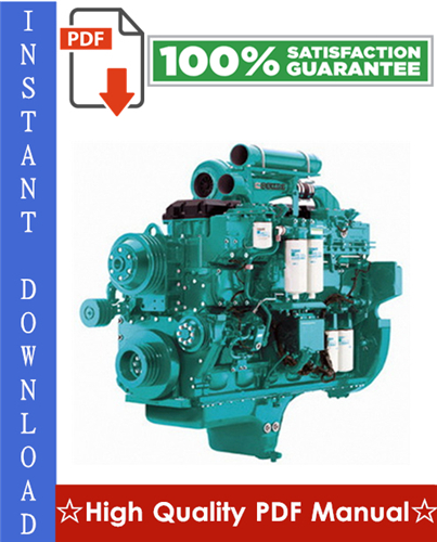 Thumbnail Cummins QSK23 Series Engines Operation and Maintenance Manual