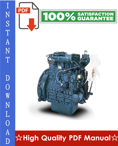 Thumbnail Kubota V2203 03-M-E3B Series, 03-M-DI-E3B Series, 03-M-E3BG Series Diesel Engine Workshop Service Repair Manual