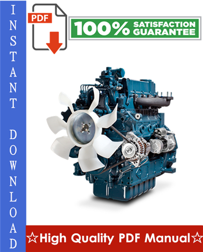 Thumbnail Kubota V3300-E2B, V3300-T-E2B Diesel Engine Workshop Service Repair Manual