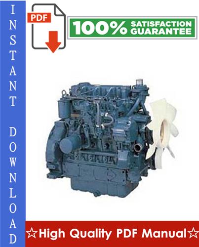 Thumbnail Kubota V3-E3B Series, V3-E3CB Series, V3-E3BG Series Diesel Engine Workshop Service Repair Manual