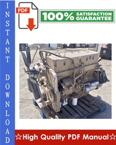 Thumbnail Cummins L10 Series Diesel Engine Workshop Service Repair Manual