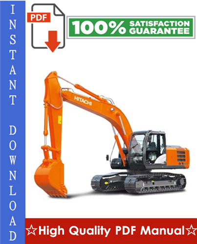 Thumbnail Hitachi EX160WD Hydraulic Excavator Workshop Service Repair Manual