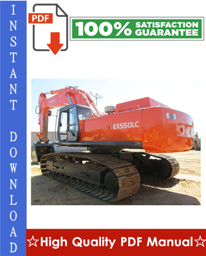 Thumbnail Hitachi EX550-5, EX550LC-5, EX600H-5, EX600LCH-5 Excavator Workshop Service Repair Manual