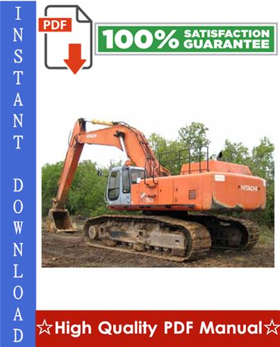 Thumbnail Hitachi EX750-5, EX800H-5 Excavator Workshop Service Repair Manual
