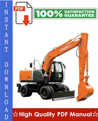 Thumbnail Hitachi ZAXIS140W-3 Wheeled Excavator Workshop Service Repair Manual