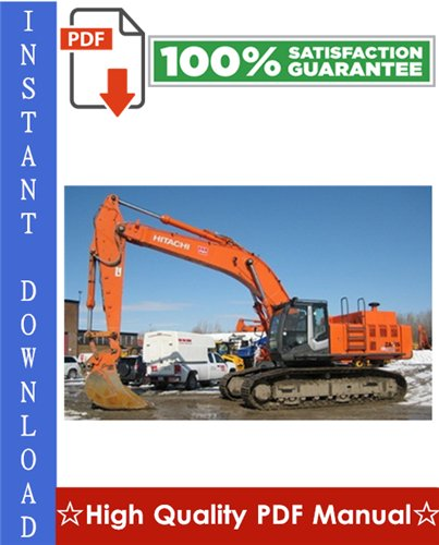 Thumbnail Hitachi ZAXIS450-3, ZAXIS450LC-3, ZAXIS470H-3, ZAXIS470LCH-3, ZAXIS500LC-3, ZAXIS520LCH-3 Hydraulic Excavator Workshop Service Repair Manual