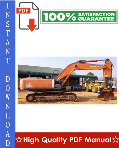 Thumbnail Hitachi ZAXIS330, ZAXIS330LC, ZAXIS350H, ZAXIS350LCH, ZAXIS370MTH Excavator Workshop Service Repair Manual