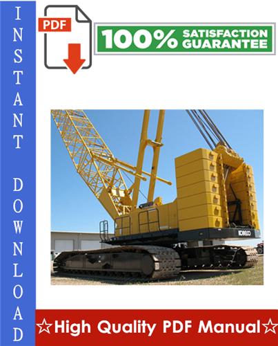 Thumbnail Kobelco CK2500-2, CKE2500-2 Crawler Crane Workshop Service Repair Manual
