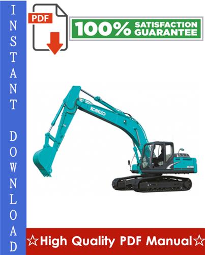 Thumbnail Kobelco SK250-8, SK260LC-8 Hydraulic Excavator Workshop Service Repair Manual