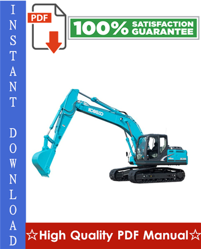 Thumbnail Kobelco SK200-8, SK210CL-8 Hydraulic Excavator Workshop Service Repair Manual