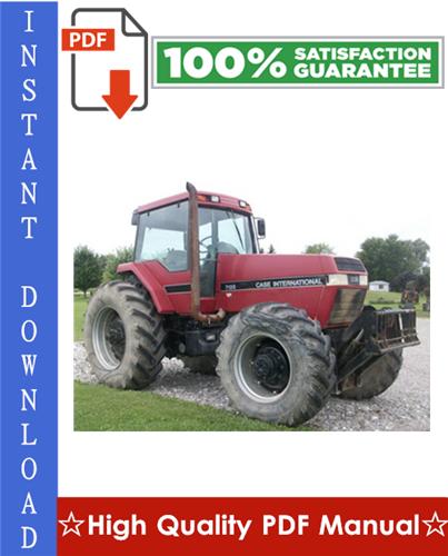 Thumbnail Case International Magnum Series 7110 7120 7130 7140 Tractor Workshop Service Repair Manual