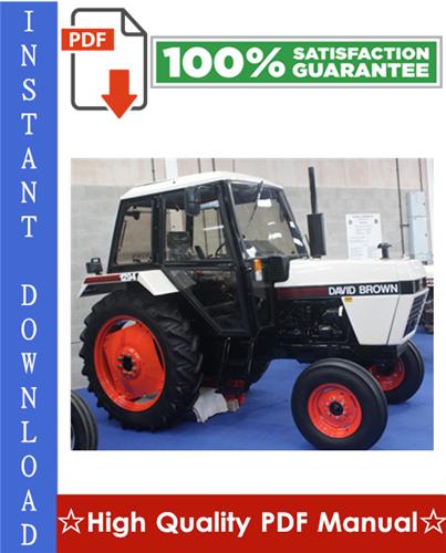 Thumbnail Case International (DAVID BROWN) 1190 1194 1290 1294 1390 1394 1490 1494 1594 1690 Tractor Workshop Service Repair Manual