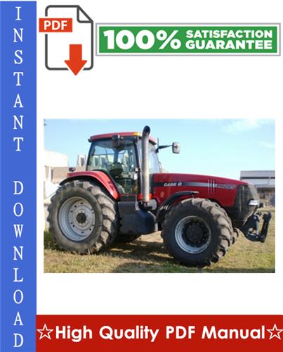 Thumbnail Case IH MAGNUM MX185, MX285 Tractor Workshop Service Repair Manual