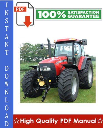 Thumbnail Case IH MXM Series Tractors MXM120, MXM130, MXM140, MXM155, MXM175, MXM190 Workshop Service Repair Manual