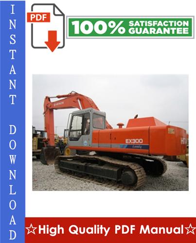 Thumbnail Hitachi EX300-3C Excavator Workshop Service Repair Manual