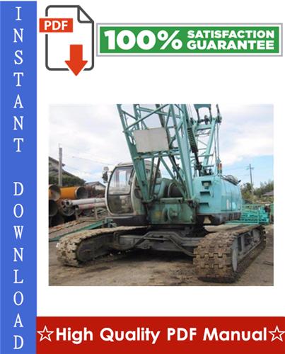 Thumbnail Kobelco 7055, 7065 Crawler Crane Workshop Service Repair Manual