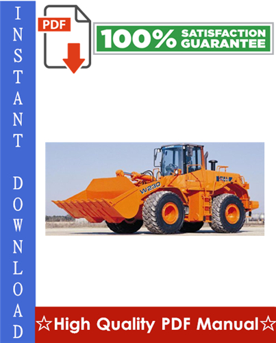Thumbnail Fiat Kobelco W230 EVOLUTION Wheel Loader Workshop Service Repair Manual