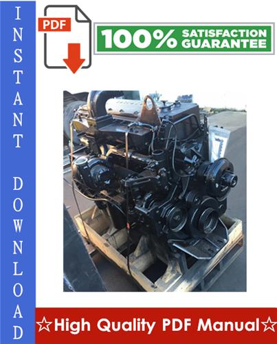 Thumbnail Cummins M11 Series Engines Workshop Service Repair Manual