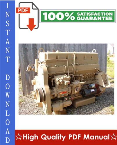 Thumbnail Cummins L10 and M11 Series Diesel Engine Alternative Repair Manual