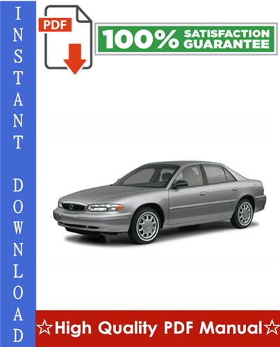 Thumbnail Buick Century Workshop Service Repair Manual 1997-2005 Download