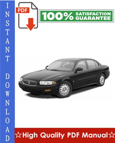 Thumbnail Buick Lesabre Workshop Service Repair Manual 2000-2005 Download