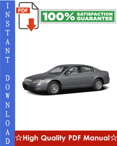 Thumbnail Buick Lucerne Workshop Service Repair Manual 2006-2009 Download
